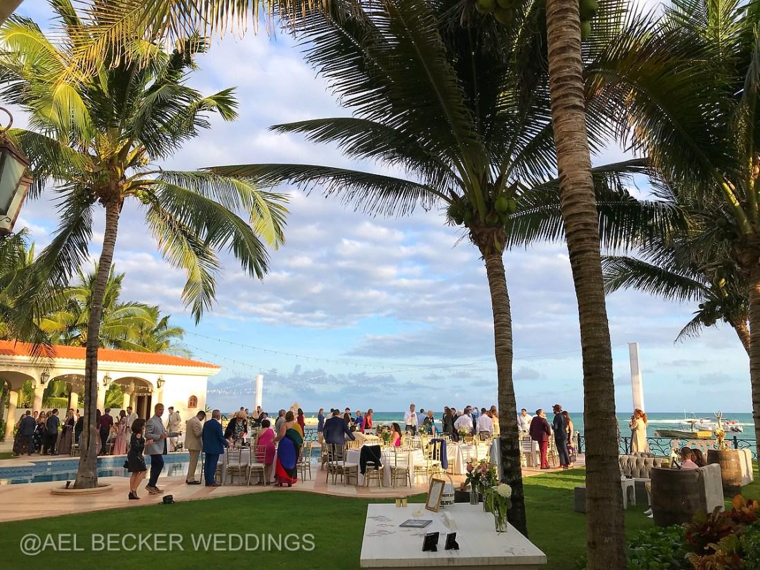 Villa La Joya Weddings, Riviera Maya, Mexico. Ael Becker Weddings