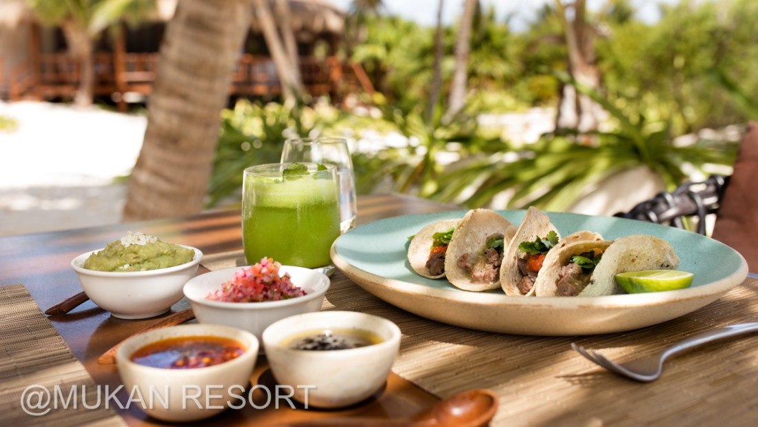 Mukan's Resort Luxury Gourmet Experience. South of Tulum, Mexico. Ael Becker Weddings