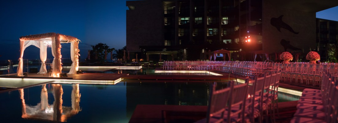 Grand Hyatt Playa del Carmen Destination Wedding. Ael Becker Weddings
