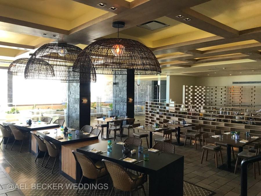 Grand Hyatt Playa del Carmen La Cocina Restaurant. Ael Becker Weddings