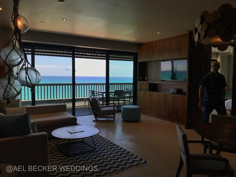 Grand Hyatt Playa del Carmen Presidential Suite. Ael Becker Weddings