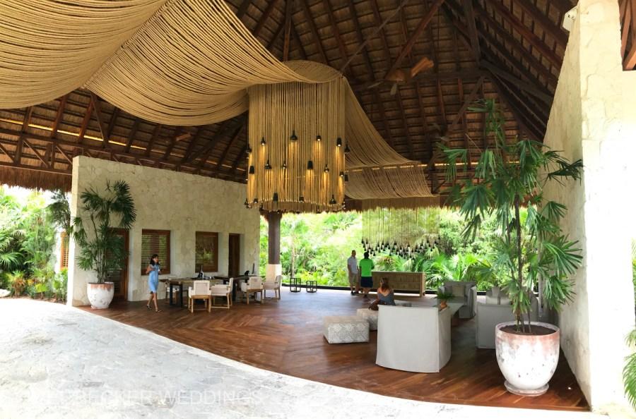 Chable Maroma Entrance, Mexico. Ael Becker Weddings
