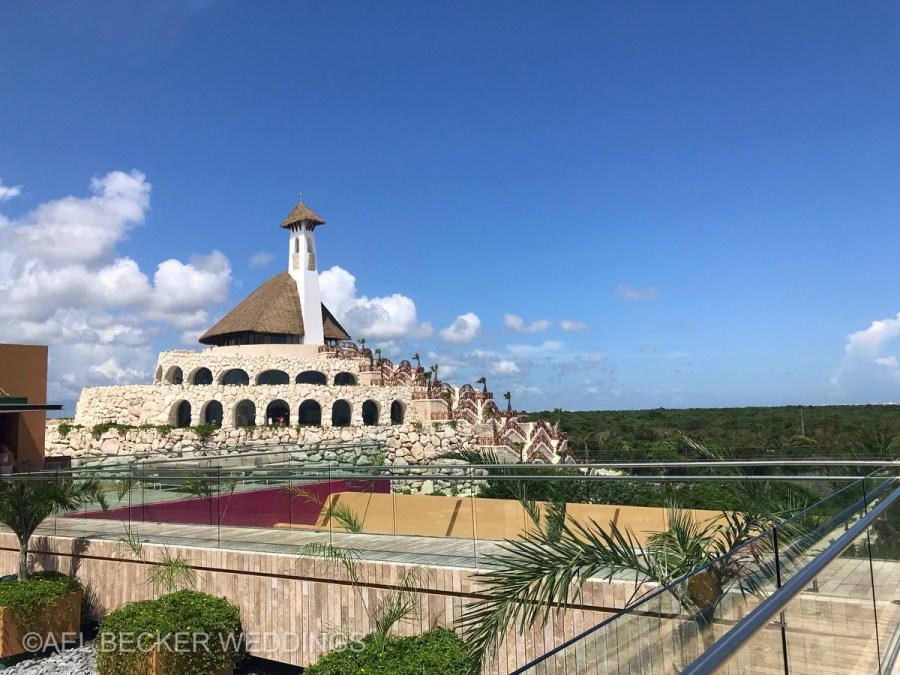 Hotel Xcaret Mexico, All Saints Chapel. Ael Becker Weddings