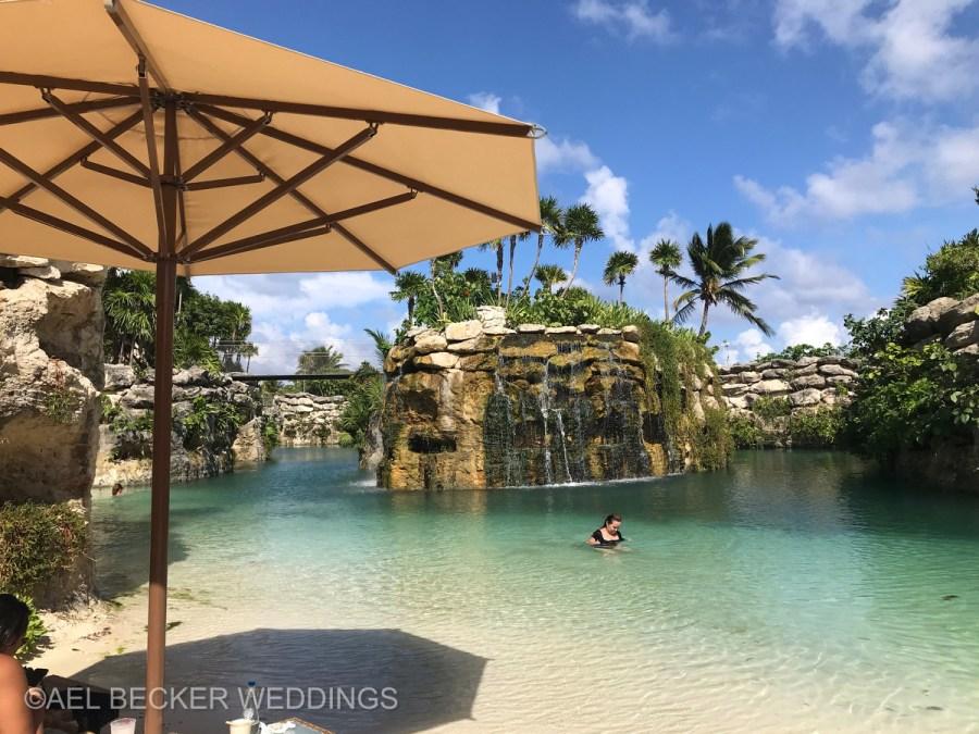 Hotel Xcaret Mexico, paradisiac inlets. Ael Becker Weddings
