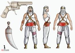 Arabian warrior concept