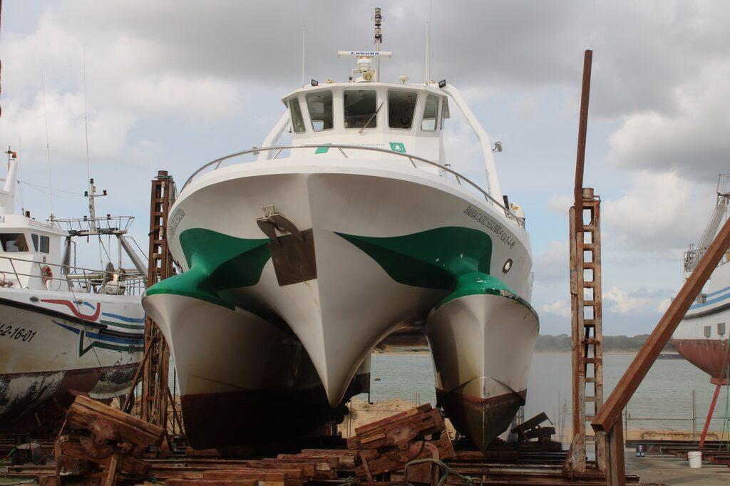 shipyards, catamaran, ships