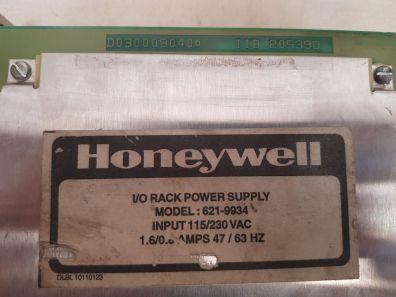 HONEYWELL 621-9934 I/O RACK POWER SUPPLY