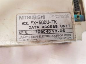 MITSUBISHI FX-50DU-TK PROGRAMMABLE CONTROLLER