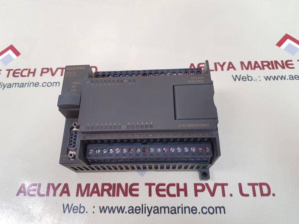 SIEMENS SIMATIC S7-200 AC POWER SUPPLY 6ES7 214-1BD23-0XB0
