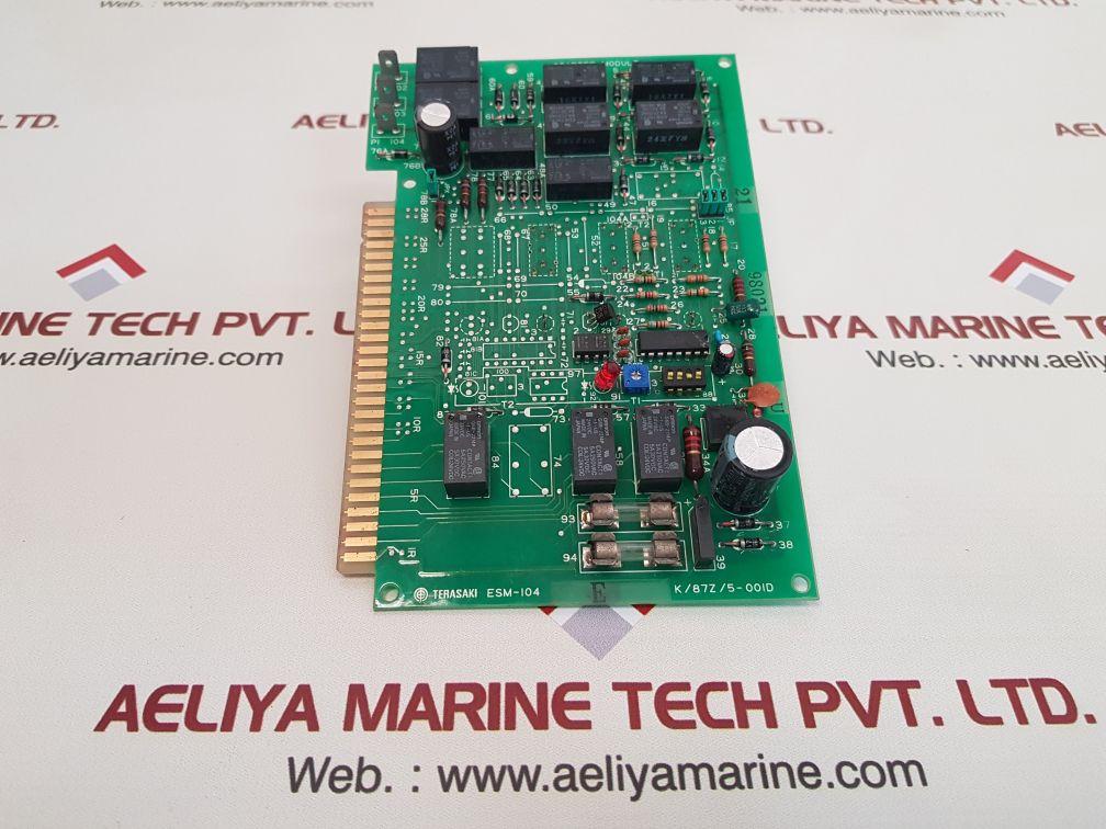 TERASAKI ESM-104 E PCB CARD K/87Z/5-001D