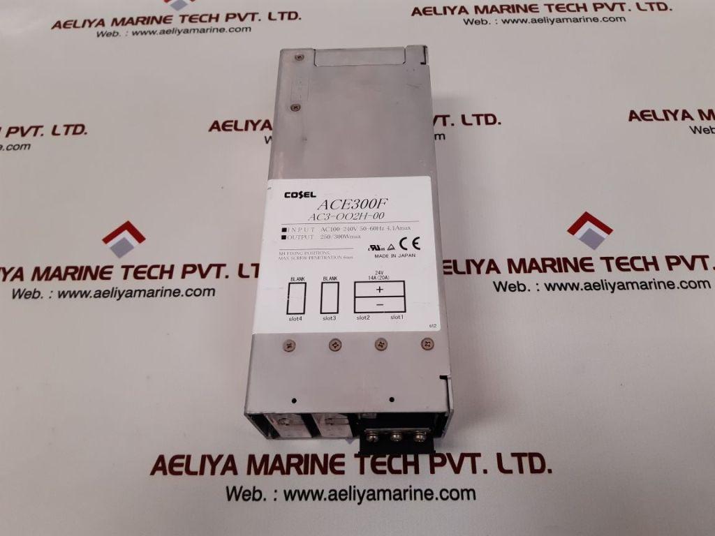 COSEL ACE300F MODULAR POWER SUPPLY AC3-OO2H-00