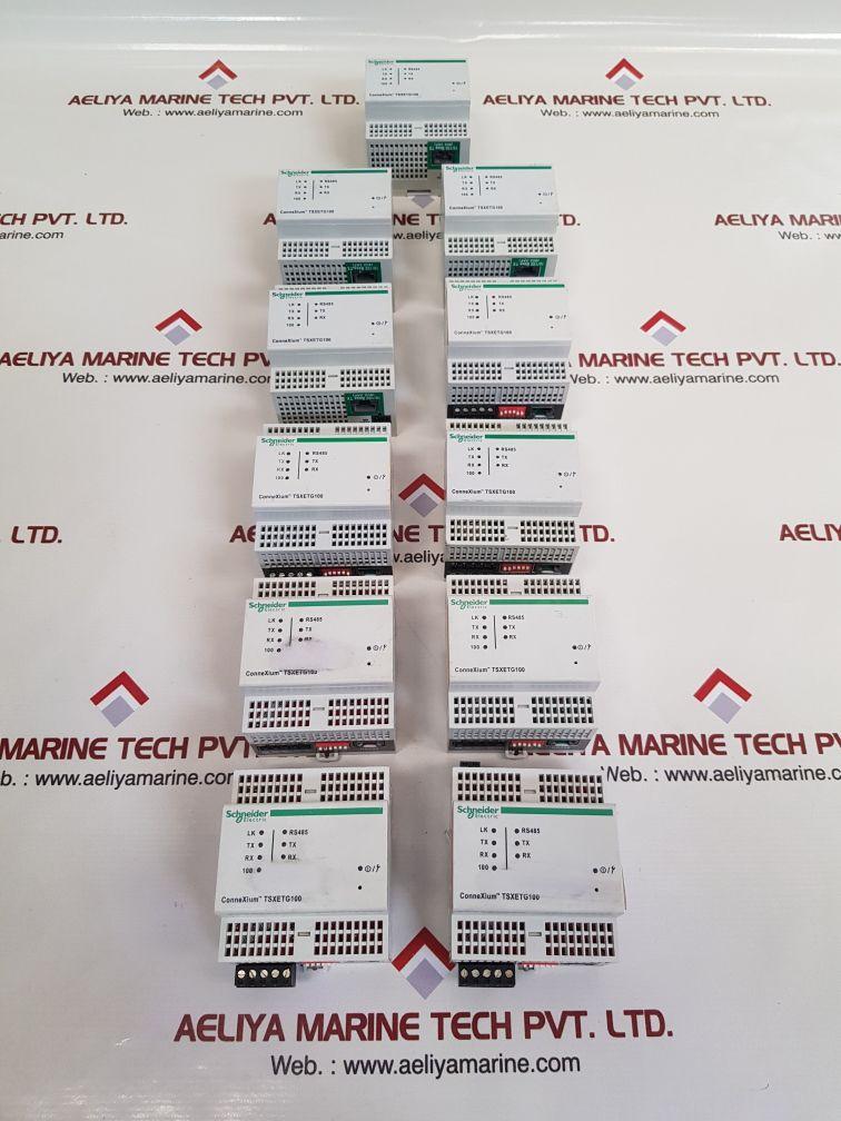 SCHNEIDER ELECTRIC TSXETG100 ETHERNET GATEWAY MODULE