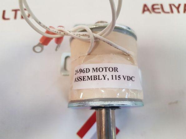 HOSE-MCCANN 29-96D-115 MOTOR ASSEMBLY