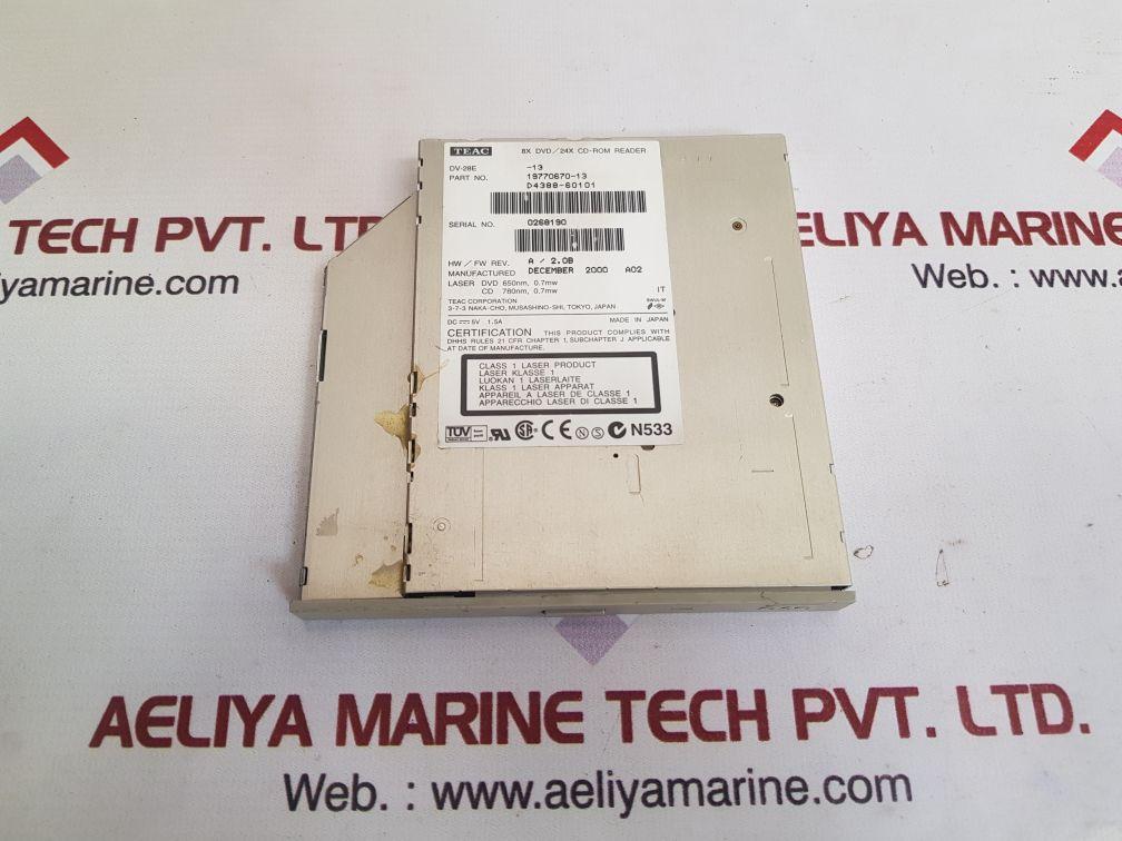 TEAC DV-28E-13 CD-ROM READER 19770670-13