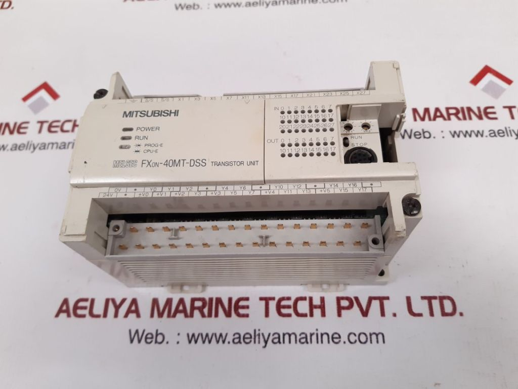 MITSUBISHI ELECTRIC MELSEC FX0N-40MT-DSS PROGRAMMABLE CONTROLLER JY550D21301A