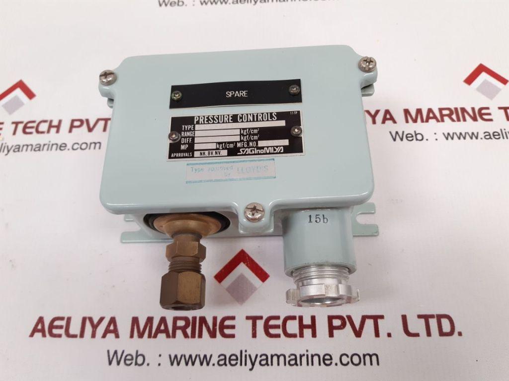 SAGINOMIYA FNS-C110WKQ PRESSURE CONTROL 0.25 KGF/CM2