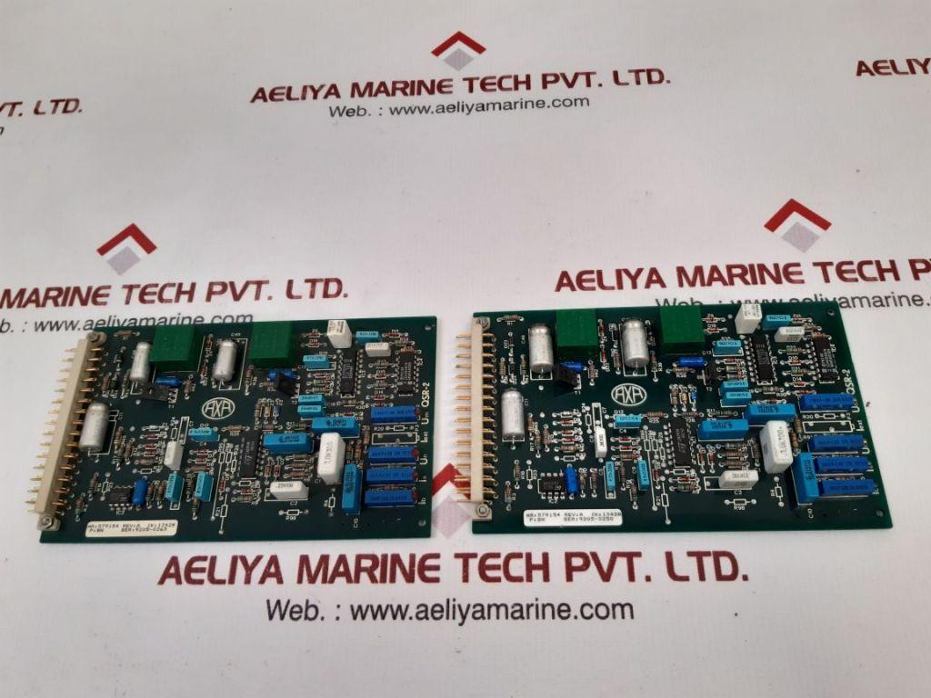 AXA QSR-2 PCB CARD 579154 IK:13428 REV:A