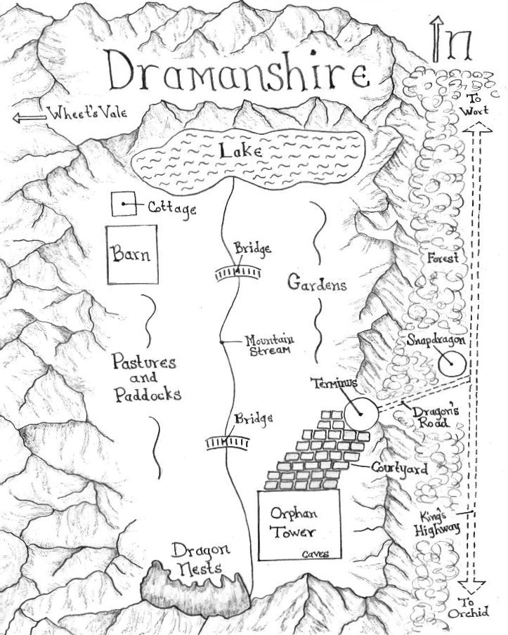 Dramanshire - darkened