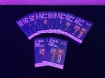 Pamphlets for St Kilda Film Festival - taken by Amy Loughlin