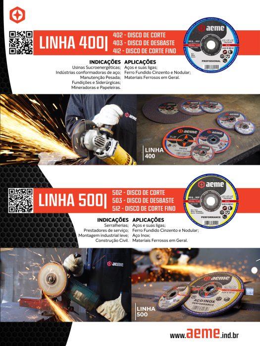 Flyer - Linhas 400 e 500