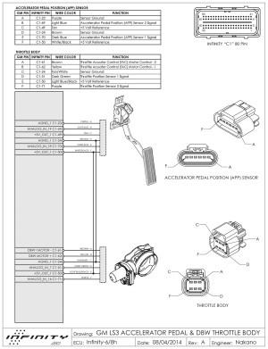 Aem Infinity 6 and nissan 350Z VQ35DE DBW | AEM