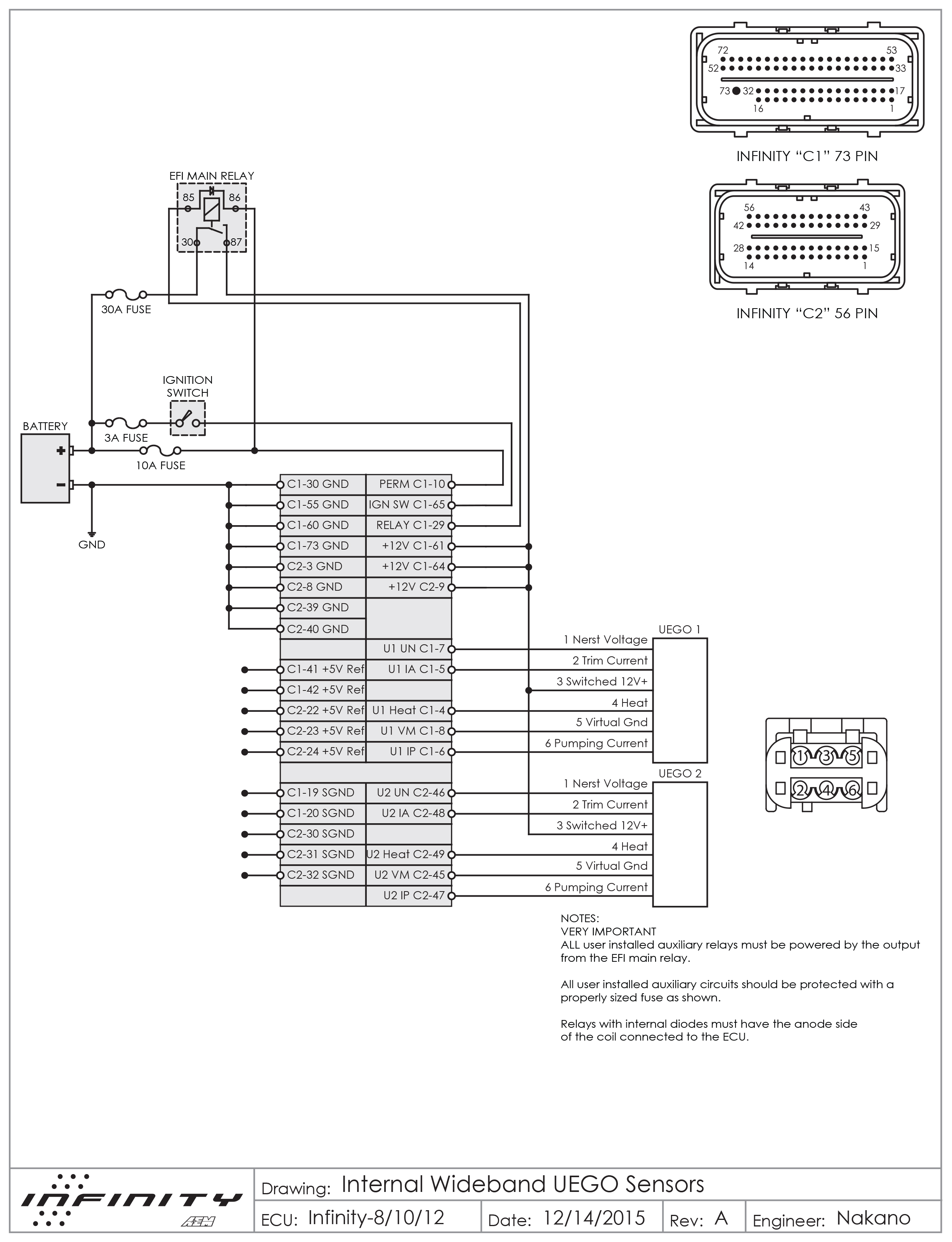 Aem Infinity 6 Wiring Diagram Diagrams Engine Wiring
