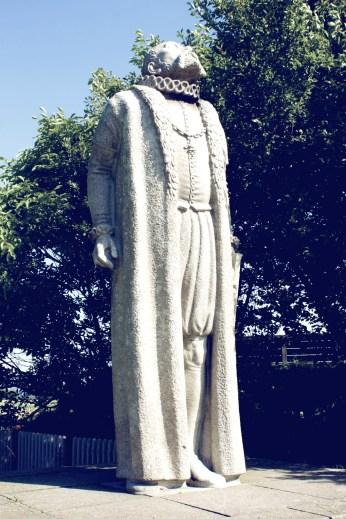 Statue of Tycho Brahe