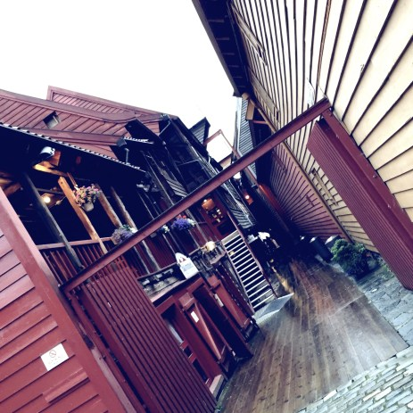 Bryggen, if you want to go shopping