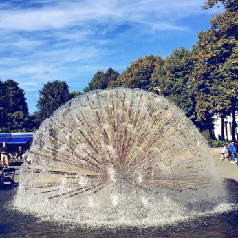 Interesting fountain
