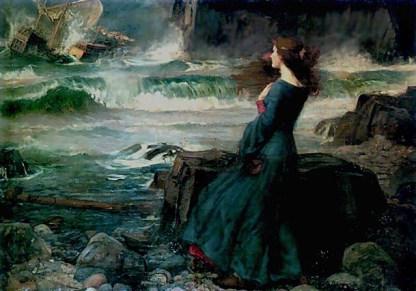Miranda by J.W. Waterhouse