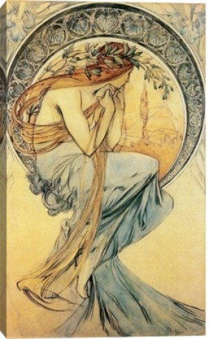 Poetry by Alphonse Mucha, 1903