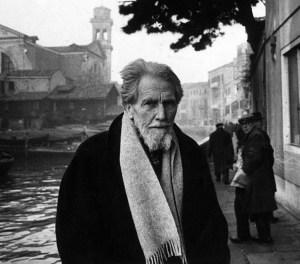 Ezra Pound in Venice (1963)