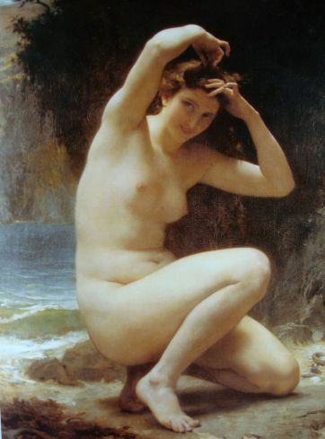 Venus' Toilette by William Adolphe Bouguereau