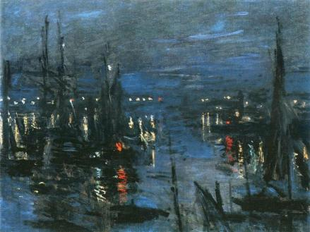 The Port of Le-Havre by Claude Monet (1873)