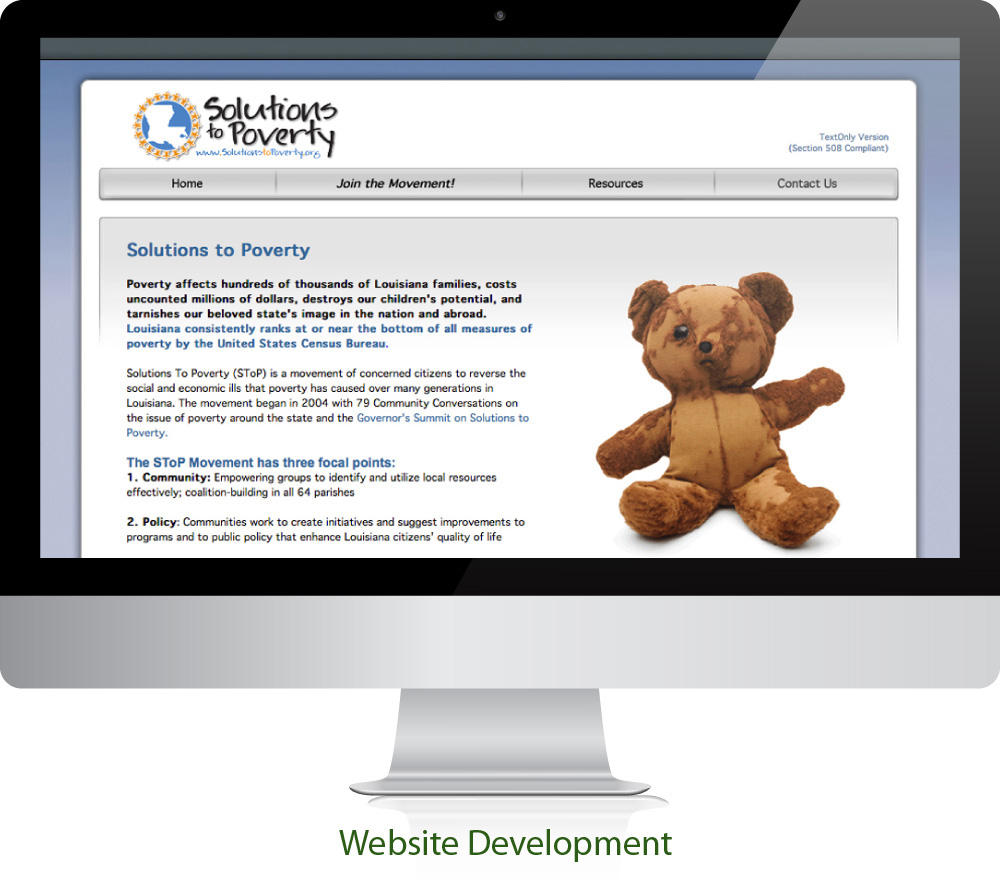 State Government Website Design Sugar Land Texas 77478