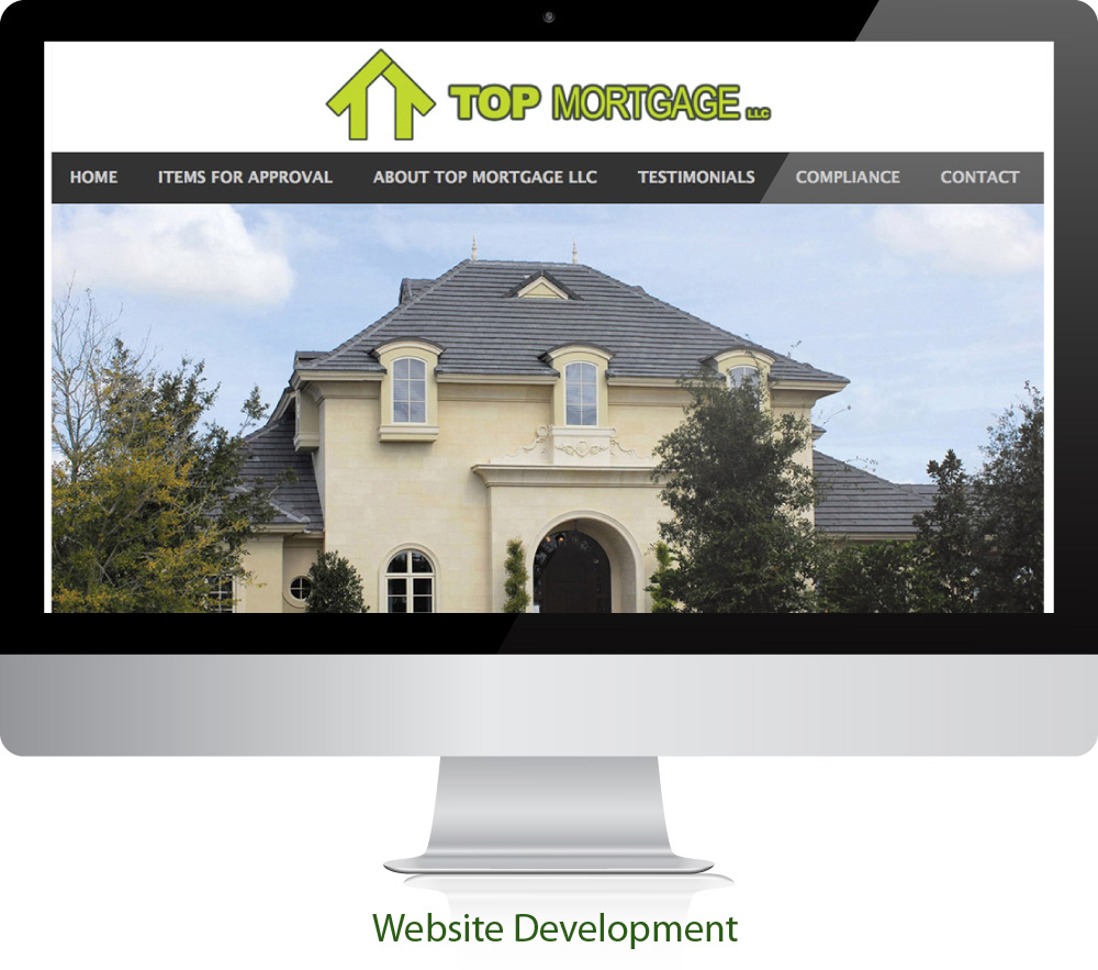 Mortgage Website Design Sugar Land Texas 77478