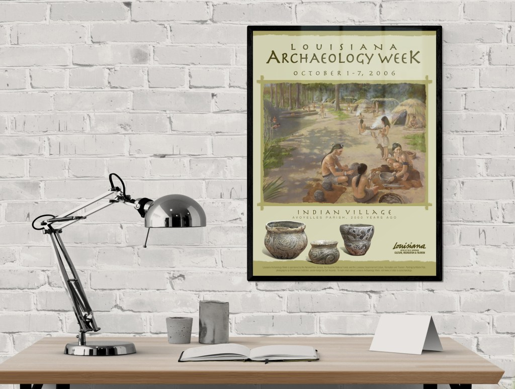Archaeology Event Poster