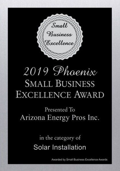 2019 Small Business Excellence Award