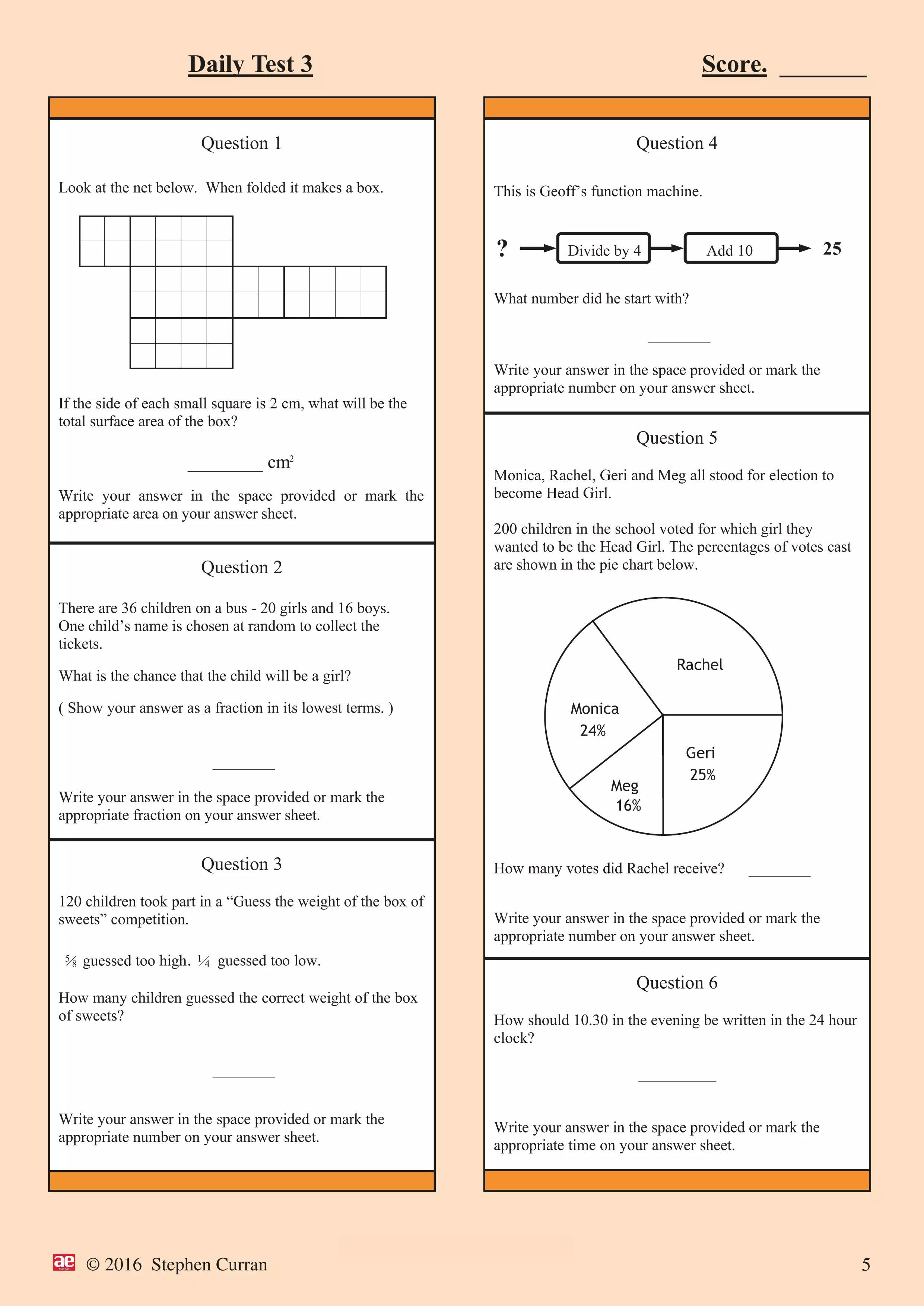 44 Info Sample Test Booklet Download Doc Zip