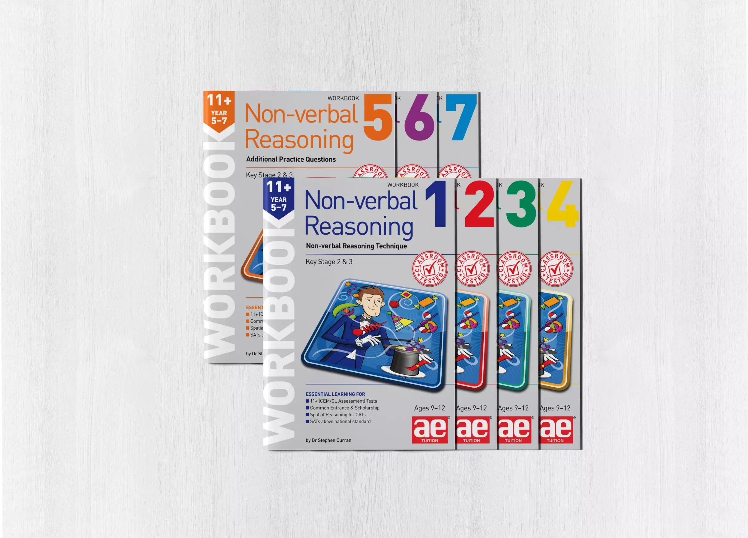 11 Non Verbal Reasoning Year 5 7 Workbook Bundle 1