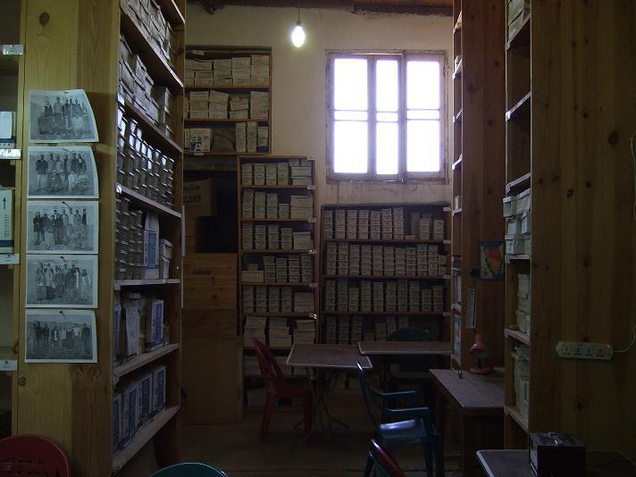 AERA storeroom near the pyramids.