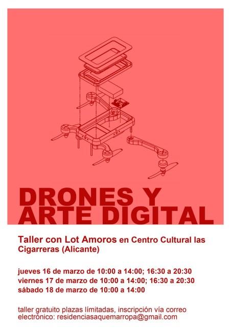 Drones y arte digital