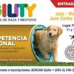 PRIMERA COMPETENCIA DE AGILITY 2017