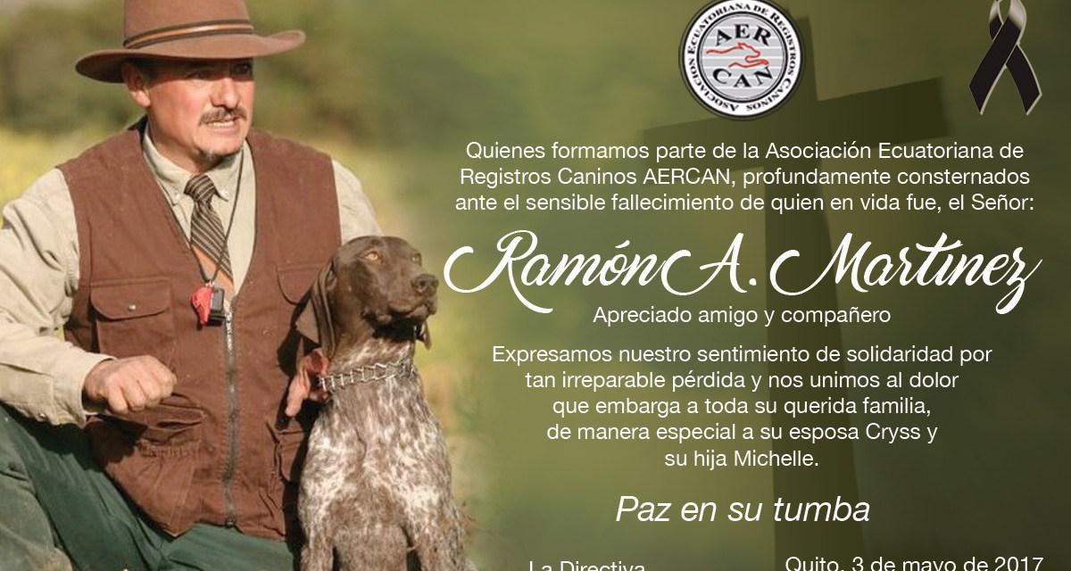 LUTO EN LA FAMILIA CANOFILA DE ECUADOR