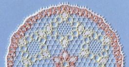Bucks Point bobbin lace mat