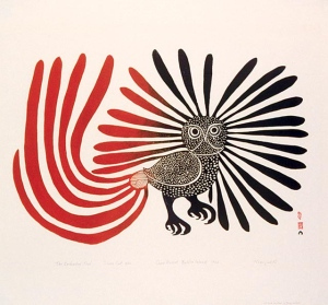 "Kenojuak Ashevak's ""The Enchanted Owl"""