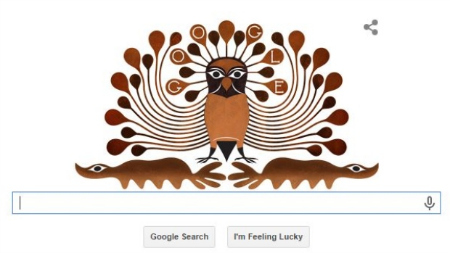 Google Enchanted Owl Doodle