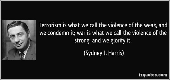 War Is Terrorism