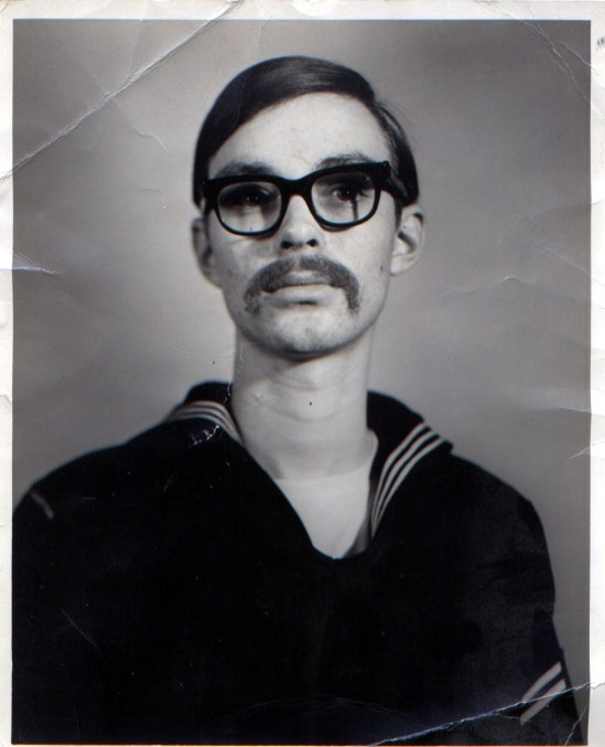Me in my Navy uniform, around the time I graduated from boot camp.