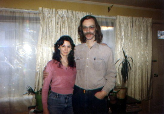 Normal woman with tall, hairy guy.